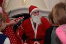 Wyczekiwany Mikołaj wreszcie przybył.