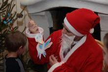 A tu prezent który od Leny otrzymał Mikołaj.
