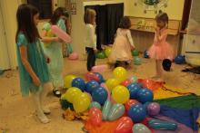 Wszystkie balony na klanzę!
