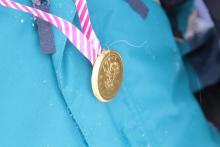 Na zakończenie, zasłużone medale.