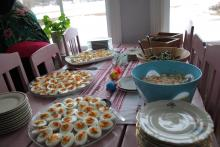 Roma przygotowała ponad 60 jaj na twardo!