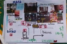 Mapa dla dzieci.